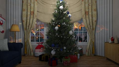 Christmas 2019 - Classic - Living room - by colorful_eye