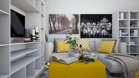 Via Aidone - Modern - Living room - by PROGETIM