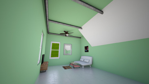 A Simple Living Room - Living room - by CaptainBenderman