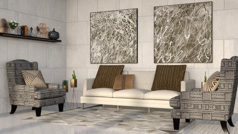Gray Stone Living - Living room - by millerfam