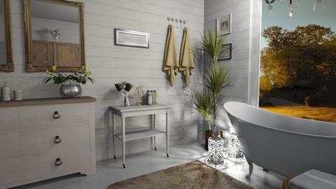 Shabby Chic Bath - Bathroom - by kyrabaldwin