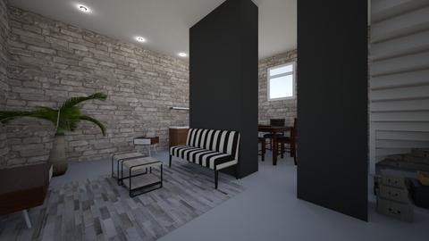 kot - Living room - by Sarah De Clercq