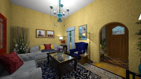 Classic Room - Classic - Living room - by almecor2311