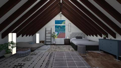 second floor - Rustic - Bedroom - by katsumi1016