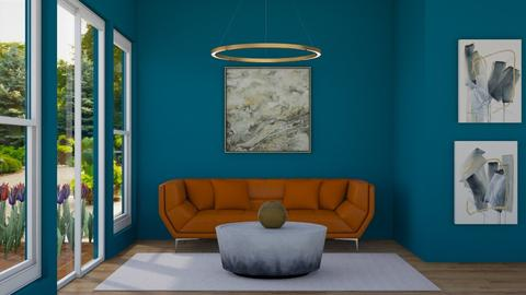 Hints of Gold - Living room - by smileslab