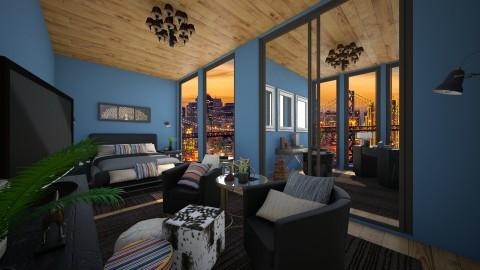 San Fran Home - Bedroom - by ISISANGELB
