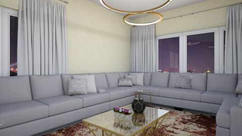salon - Living room - by Btissam Amnad
