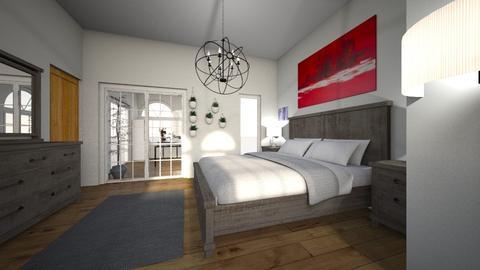 Bedroom Thornbury - Modern - Bedroom - by athornbury4