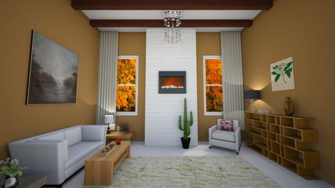 autumn - Country - Living room - by Snowy Tiger