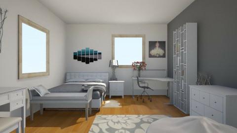 Simple  - Modern - Bedroom - by kaaaylak