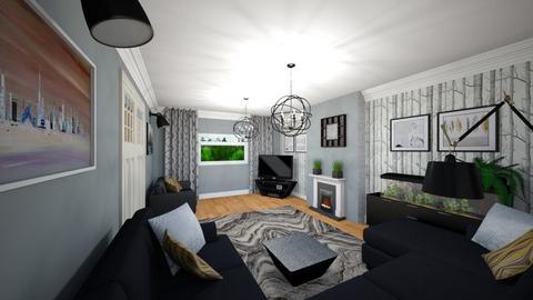 Livingroom v7_2 - Living room - by mtracerz