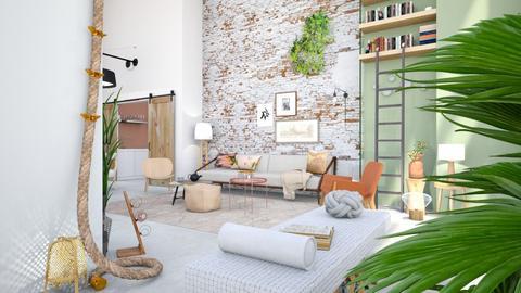 Expat1 - Living room - by Gwenda van Maaren