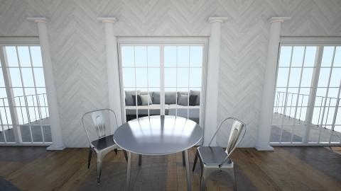 Ebony and Ivory - Minimal - Dining room - by archibasil