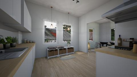 norrmalm - Kitchen - by wilmaskold