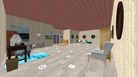Sea Bedroom  - Bedroom - by Sonnet