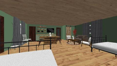 Kilbuck Creek Cabin - Bedroom - by bbydoll321