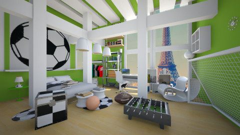 Foot ball - Modern - Kids room - by christoforos