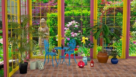 Colorful Conservatory - Garden - by jammuek