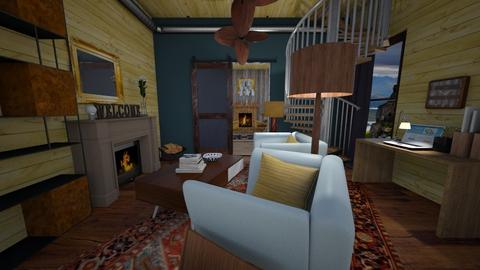 Woody - Eclectic - Living room - by natural11