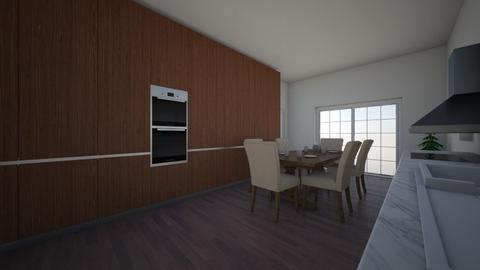 keuken - Kitchen - by Jentina