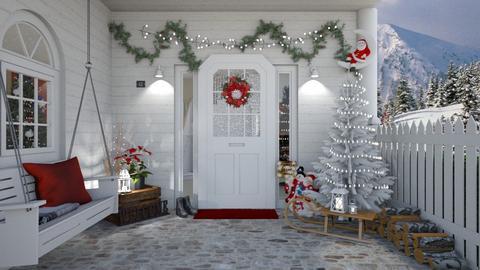 Christmas - Garden - by creato