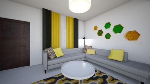 Alina Mocanu Living2 - Modern - Living room - by Flori Santa