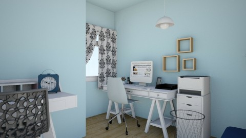 Home Office - Minimal - Office - by tng_woodson
