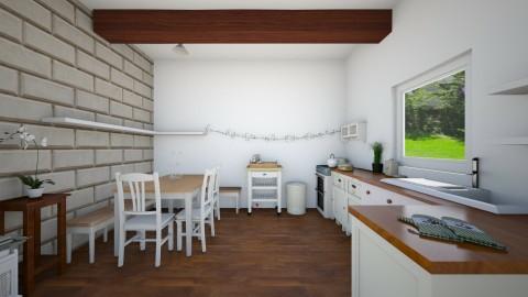 Chyndice - Country - Kitchen - by Zuzana K