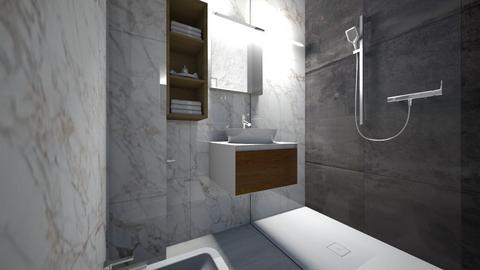 sdb - Bathroom - by Btissam Amnad
