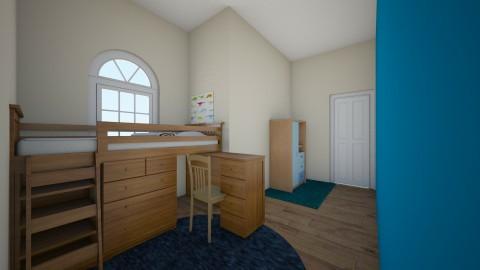 Little Boys Bedroom - Bedroom - by Spannergee