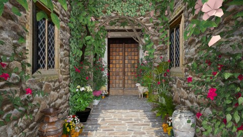 Design 92 Alley in Tuscany - Garden - by Daisy320