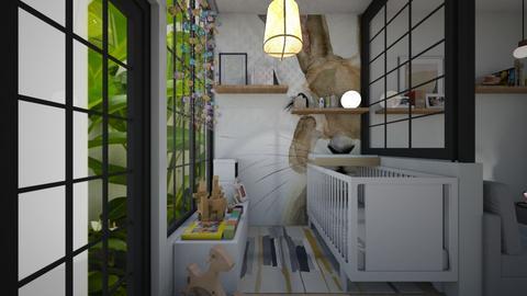 Casa311Nursery - Feminine - Kids room - by nickynunes
