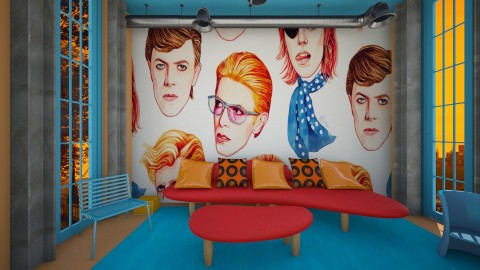 david bowie b - Living room - by rasty