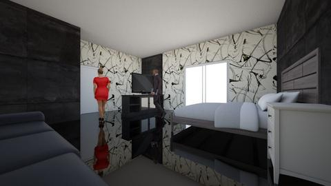 first desing - Bedroom - by DrEscalona