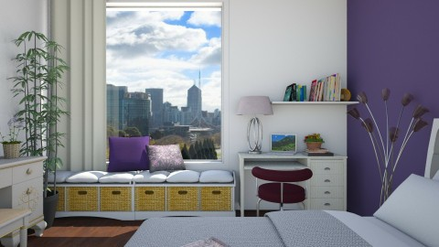 BEDROOM NEW STYLE - by Monica V Seke