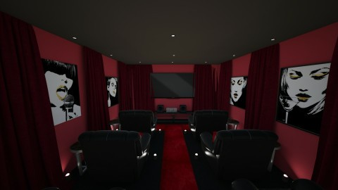 Entertainment Area - by Jessica Whittaker
