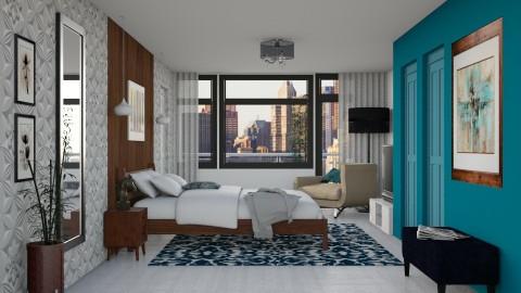 Bedroom redesign - Modern - Bedroom - by Alecio