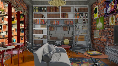 Industrial  - Living room - by Marcos Natan