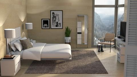 Mountain Canyon Home Bedroom - Bedroom - by GraceKathryn