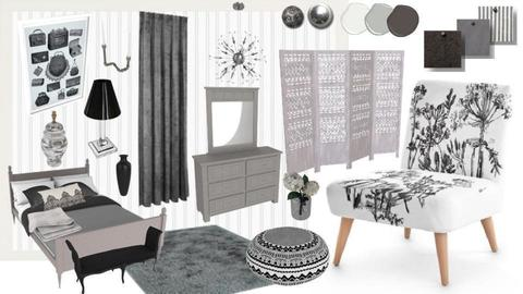 Monochrome Meadow - by Interiors by Elaine