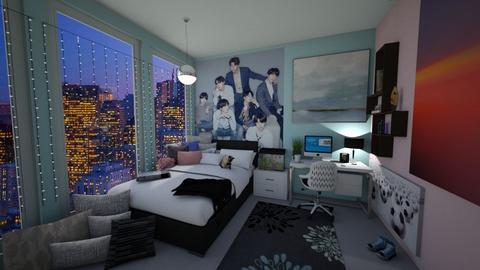 Teenage Girl - Bedroom - by 37146