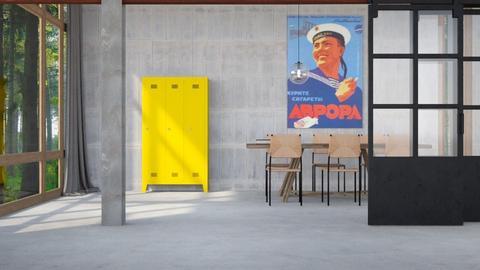 Industrial dining - Minimal - Dining room - by HenkRetro1960