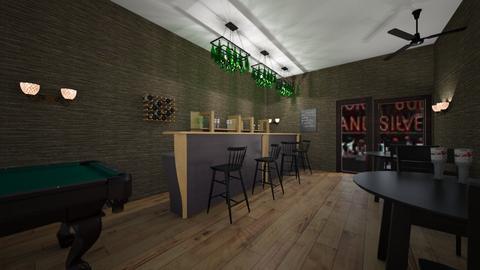 snooker pub - by Kelsey Kemp