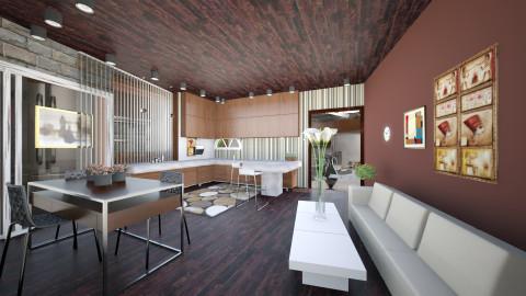 remodelling - Modern - Kitchen - by Kristin_m