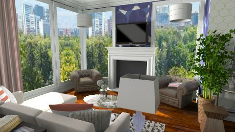 Denver Living Room - Living room - by skiiergirl315