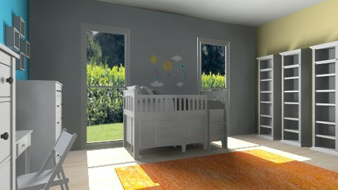 Toddler Room - Eclectic - Kids room - by ChantelledoRo