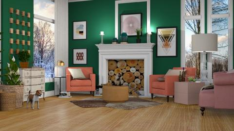 Template living room - by pachecosilv