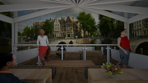 Tulips and Amsterdam - by FRANKHAM