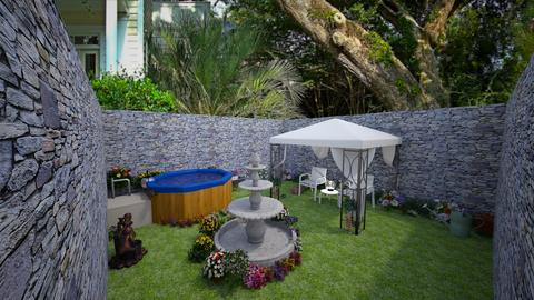 OutdoorPeaceGardenRelax  - Modern - Garden - by jade1111