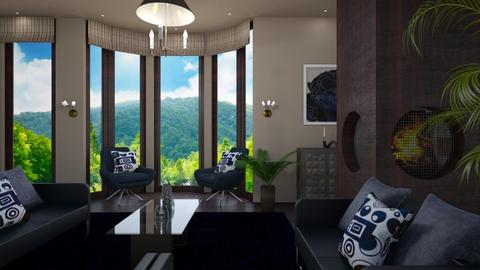 Modern Island  - Eclectic - Living room - by timeandplace